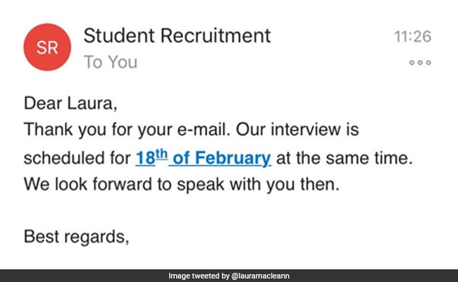 Student Shows Up For Microsoft Job Interview One Month Early Goes Viral