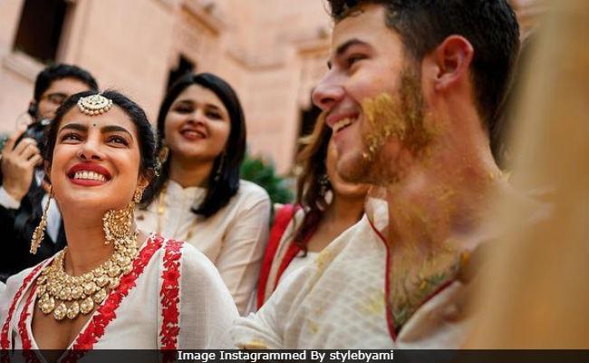 Stop. Look At These Pics From Priyanka Chopra And Nick Jonas' Haldi Ceremony