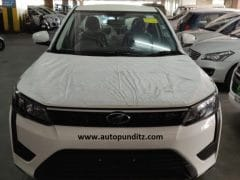 Mahindra XUV300 Base Variant Spotted Ahead Of Launch