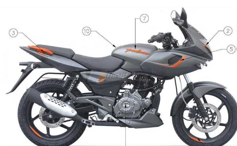 2019 Bajaj Pulsar 180F Details Leaked; Launch Soon
