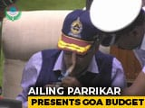Video : Tube In Nose, Unwell Manohar Parrikar Presents Goa Budget