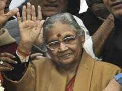 "Sheila Dikshit Cites Rajiv Gandhi, Says ""No Talk Of Alliance With AAP"""
