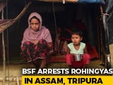 Video : 31 Rohingya Handed To Tripura Police Ending Standoff With Bangladesh