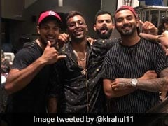 Virat Kohli Parties With KL Rahul, Hardik Pandya, Mayank Agarwal After India's Win In Australia. See Pictures