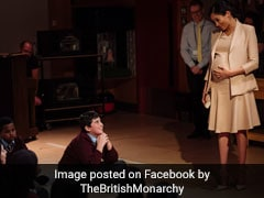Duchess Of Sussex Visits London Theatre. The Lovely Pics Are Viral