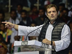 """He Looked Here, There, Everywhere"": Rahul Gandhi Mocks PM On Rafale"