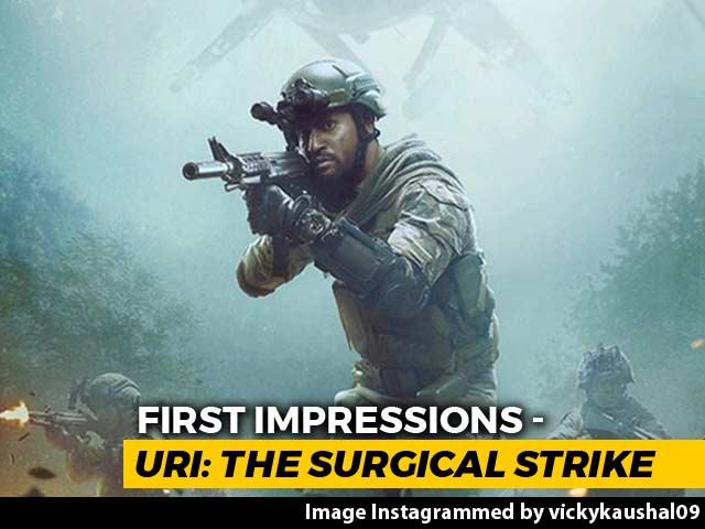 First Impressions Of Vicky Kaushal's Uri