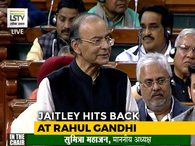 Video : Arun Jaitley Quotes James Bond In The Parliament