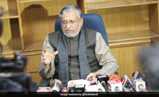 'People Who Are Less Educated Have More Children': Sushil Modi