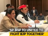 "Video: ""Alliance With Akhilesh Yadav Will Leave Modi-Shah Sleepless"": Mayawati"