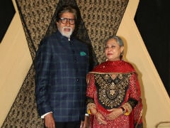Amitabh Bachchan, Jaya Bachchan And Aamir Khan Lead Celeb Roll Call At Mukesh Bhatt's Daughter Sakshi's Wedding Reception. See Pics