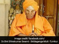 Karnataka Seer, 111, Dies; HD Kumaraswamy, BS Yeddyurappa United In Grief