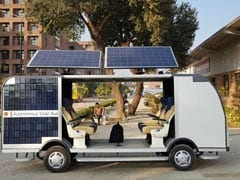 Students Design Driverless Bus That Runs on Solar Power, Cost Rs 15 Lakh