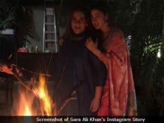 Inside Sara Ali Khan's Vibrant And Warm Lohri Celebrations With Amrita Singh