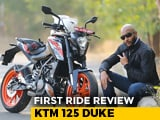 KTM 125 First Ride Review