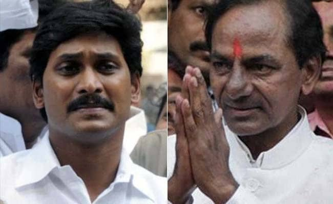 KCR To Appeal To Andhra Voters To Support Jagan Mohan Reddy's Party