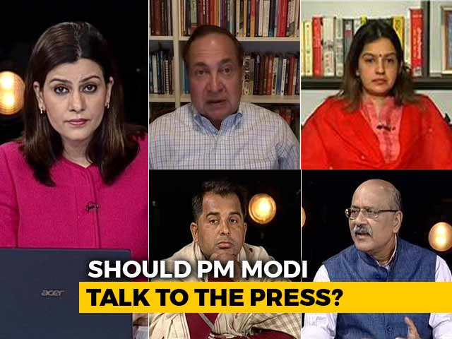 Video : Should PM Modi Face The Press?