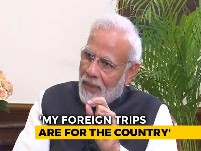Video : What PM Modi Said On His Multiple Foreign Visits