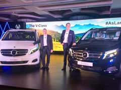 Mercedes-Benz V-Class Launched In India; Priced At Rs. 68.40 Lakh