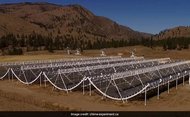 Revolutionary radio telescope detects bevy of fast radio bursts