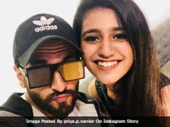 Priya Prakash Varrier, 'Big Fan' Of Ranveer Singh, Wanted To Star In <i>Simmba</i>