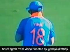 IND vs NZ 3rd ODI: 'लड्डू' कैच छोड़ने के बाद Virat Kohli ने किया ऐसा, वायरल हुआ VIDEO