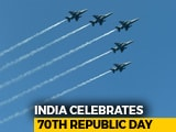 Video : Helicopters, Jets Flypast At Rajpath On 70th Republic Day