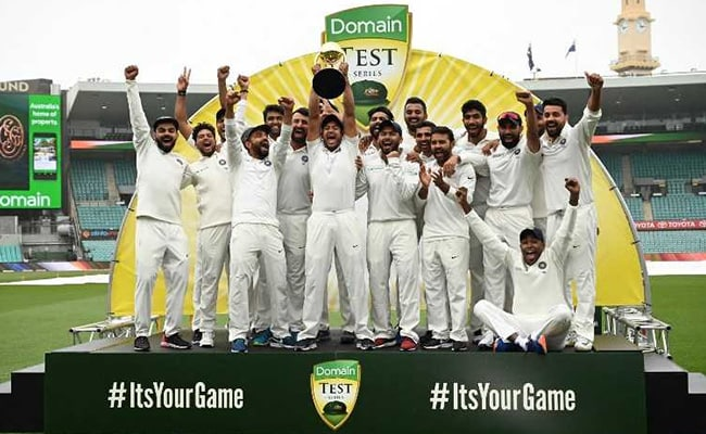 India vs Australia 4th Test Day 5: History Creates At Australia By Virat Kohli And Brigade With The Series Win