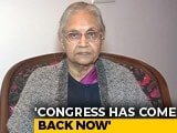 "Video: ""AAP Only Repeating What We Said"": Sheila Dikshit Rules Out Tie-Up"