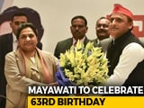 Video : Low-Key Birthday For Mayawati, New Ally Akhilesh Yadav May Visit Her