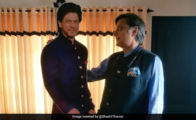 Stunned By Hotel's SRK 'Shrine', Shashi Tharoor Posts 'No Place For Rest'