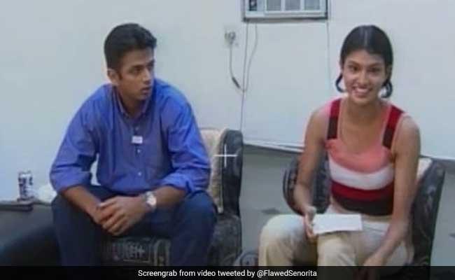 लड़की ने कैमरे के सामने किया था राहुल द्रविड़ को शादी के लिए प्रपोज, गुस्से में किया था ऐसा, देखें VIDEO