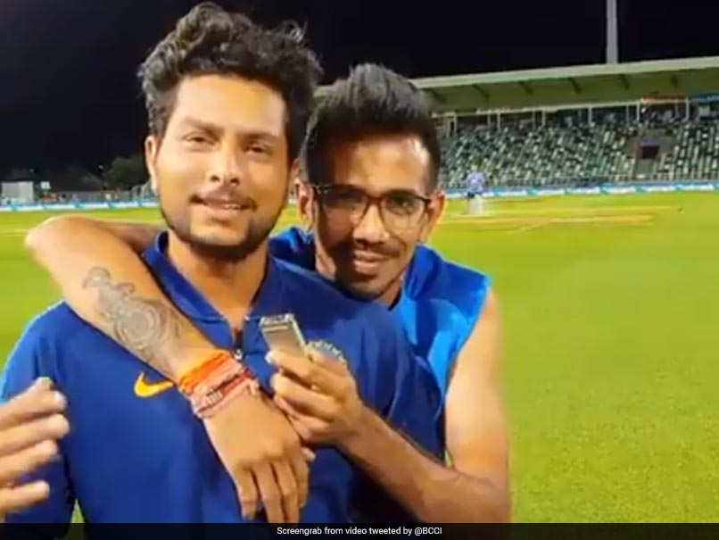 "Yuzvendra Chahal's ""Partner In Crime"" Kuldeep Yadav Debuts On Chahal TV"