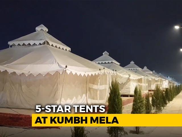 Video : A Peek Into Luxury 5-Star Tents At Prayagraj's Kumbh Mela