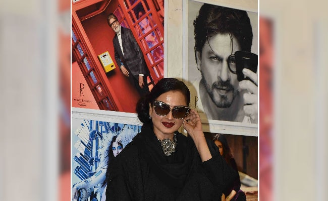 When Rekha accidentally posed with Amitabh Bachchan