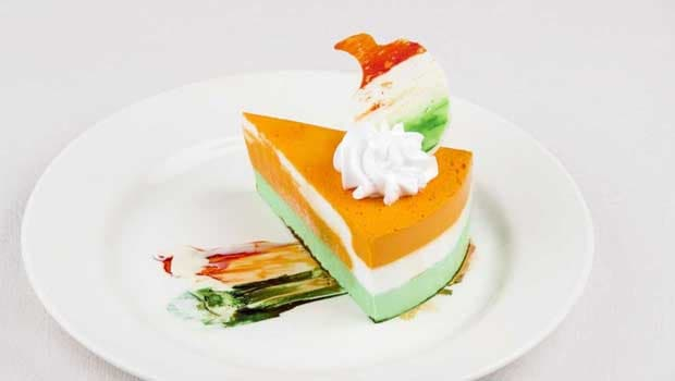 Tricolor Cheesecake