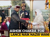 Video : Wife Of Soldier Killed On Duty Receives Ashok Chakra In Poignant Moment