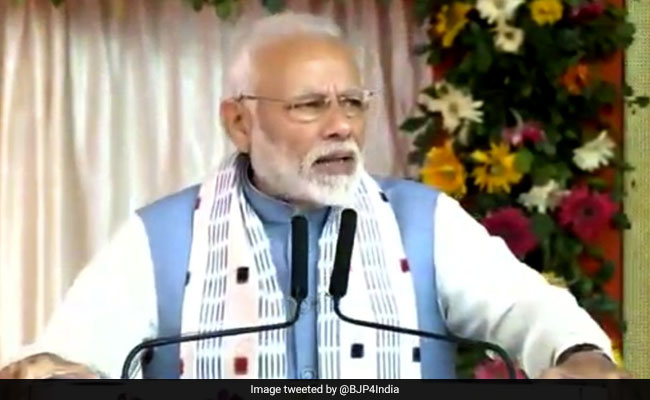 PM Modi Launches Projects Worth Over Rs 1,550 Crore In Odisha's Balangir