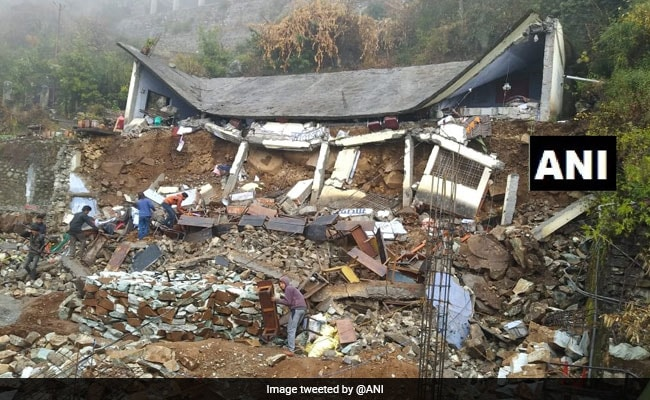 School Collapses In Uttarakhand After Heavy Rainfall, No Casualties