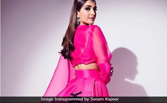 The Backstory Behind Sonam Kapoor's 'AK-OK' Anamika Khanna Outfit