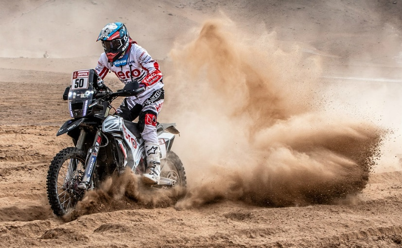 Dakar Rally 2019: Hero's Oriol Mena And TVS' Lorenzo Santolino Finish Stage Four At 11th And 10th Position Respectively