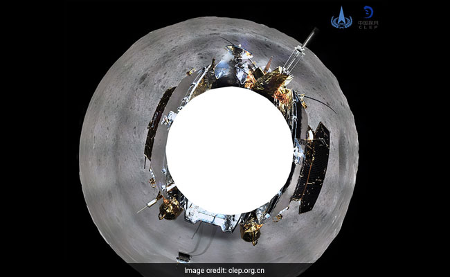 China's Lunar Probe Sends Panoramic Image Of Moon's Far Side
