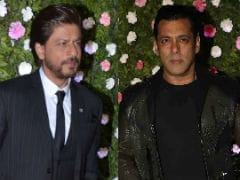 Shah Rukh, Salman Khan, Amitabh Bachchan Lead Celeb Roll Call At Raj Thackeray's Son's Reception