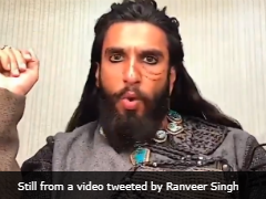 "Here's How Ranveer Singh Marked 1 Year Of ""<i>Padmaavat</i>"""