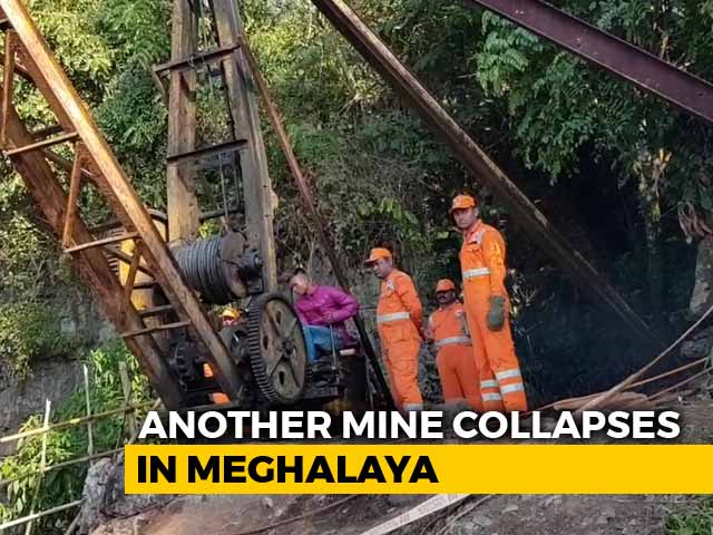 Video : 2 Dead As Another Meghalaya Mine Collapses, Rescue Stumbles At Older Site