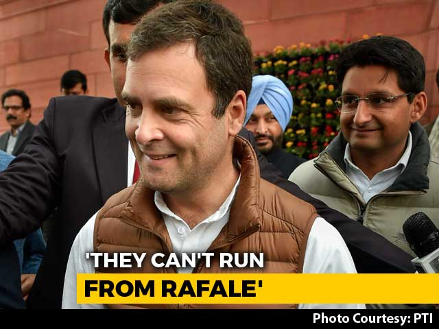 "Video : ""Nothing Will Save PM From Rafale"": Rahul Gandhi After CBI Chief Verdict"