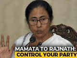 Video : Mamata Banerjee, Rajnath Singh Have Heated Exchange After Amit Shah Rally