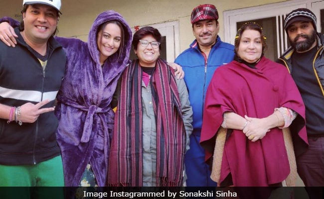 Sonakshi Sinha Shares Pic From 'First Day Of Shoot' In Amritsar