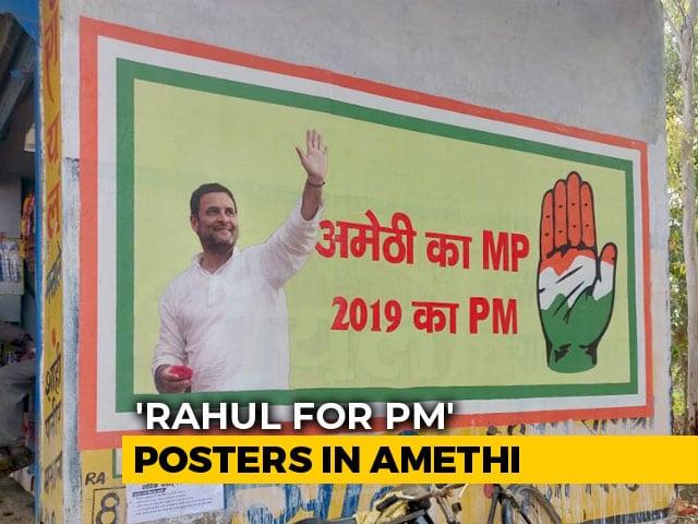 Video: Rahul Gandhi Visits Amethi, Seat Spared By Akhilesh Yadav-Mayawati Combo