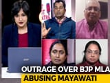 Video : BJP Leader's Abusive Comment = Advantage Mayawati?